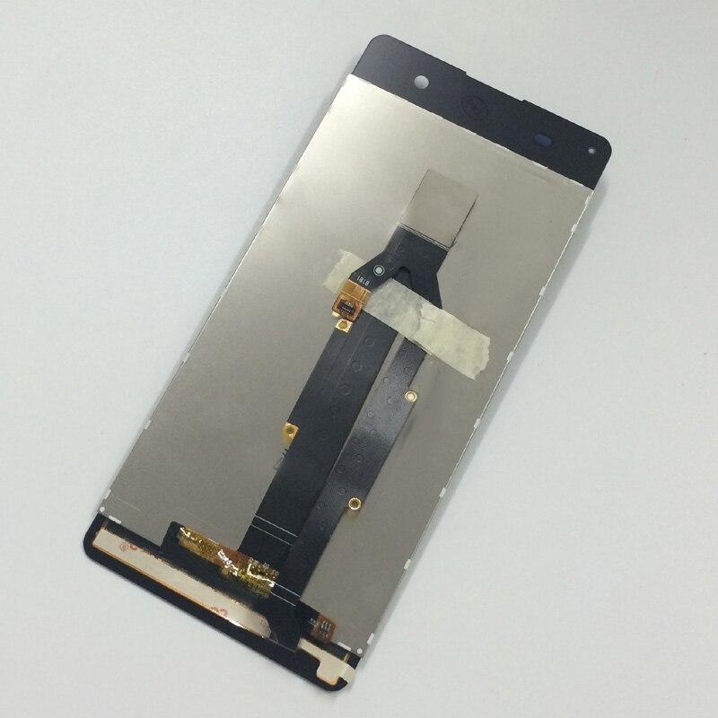 imágenes para Rosa de Oro de Pantalla Táctil de Cristal Digitalizador Del Sensor + Panel de Pantalla LCD de Montaje Para Sony Xperia XA F3111 F3113 F3115