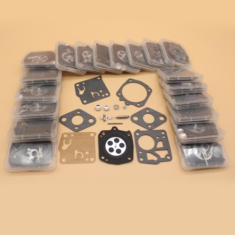 Tools : 20Pcs Carburetor Kit For HUSQVARNA 61 165 265RX 266 268 181 281 272XP 2100 Jonsered 625 630 670 920 930 2094 Tillotson RK-23HS