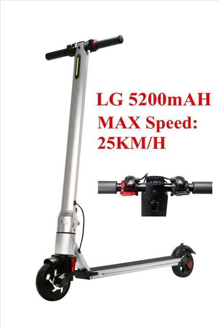 2018 Newest Electric Scooter with LG battery 8kgs suitable for Children/Adults kick scooter Electric Hoverboard Ebike Bicycle