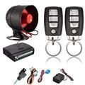 Universal 12V Car Alarm System One Way Vehicle Burglar Alarm Security Protection System with 2 Remote Control Auto Burglar