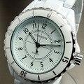 Mulheres relógio marca de luxo Curren moda Casual relógios de quartzo de cerâmica senhora relojes mujer mulheres relógios de pulso vestido relógio
