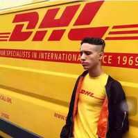 2018 Summer New Brand Paris Fashion Vetements Air Transport DHL T Shirts Women Men Short Sleeve Cotton Tops Letter Yellow Tee