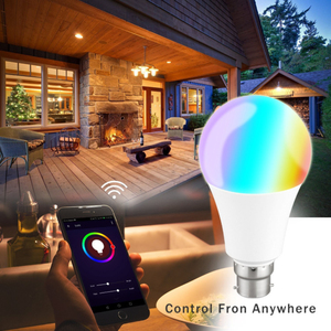 Image 4 - E27 WiFi Slimme Lamp RGB LED Lamp 11W Multicolor Dimbare Lamp Voice Control Compatibel met Alexa en Google assistent