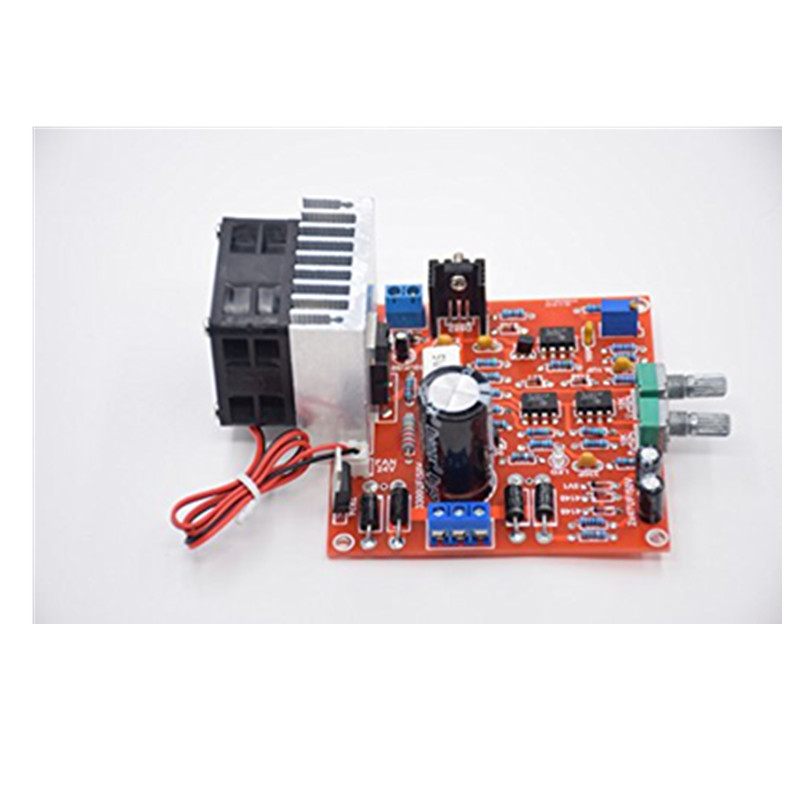 3in1 Gratis Pengiriman 0-30 V 2mA - 3A Adjustable DC Diatur Power Supply DIY Kit + Radiator Aluminium Heatsink + Kipas Pendingin