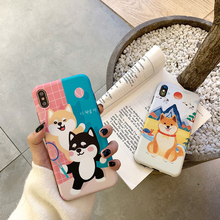 Shiba Inu Japan Style Phone case for iPhone XS Max X XR XS  6 6S 7 8 Plus