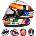 ECE Full Face Motorcycle Helmets Capacete Casco Motos Casque Dirt Bike Protection Headgear