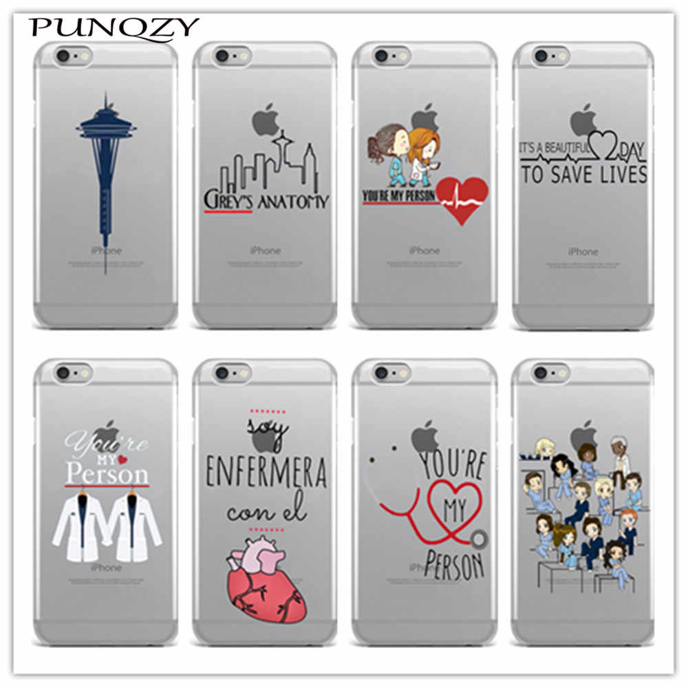 Phone cover Grey's Anatomy Soft TPU silicone Case For iPhone 11 Pro X XS MAX XR 8 8Plus 7 7Plus 6 6s Plus SE 5s Back Cover Fundas Coque