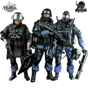 Image 1 - PATTIZ 1/6 Scale Military Solider Figure Toys Set Collectable US Swat Team Model DIY Clothes Doll Action Figure Gun Toy for Boys