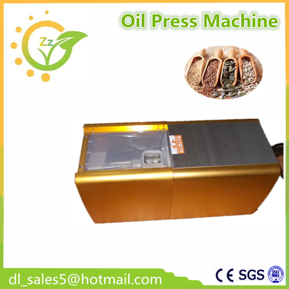 NEW Automatic  Mini Home Oil Press Machine Cold Hot press for peanut,coconut high quality coconut oil filter press oil extraction machine with ce certification