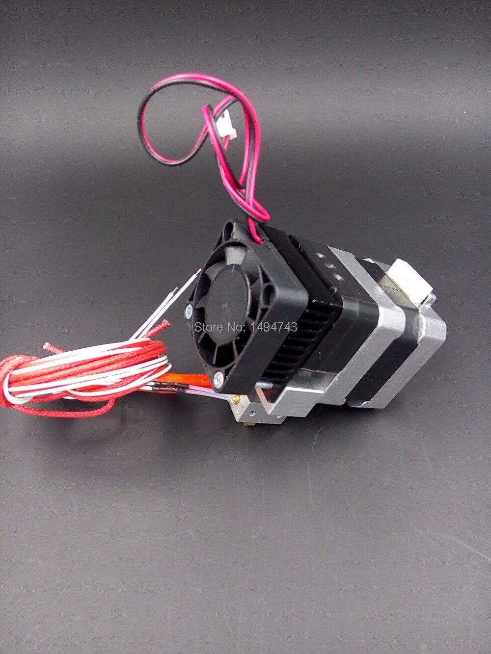 2 sets 0.4mm Nozzle MK7 3D printer extruder + 3 pcs Allen wrench for Makerbot Prusa i3 Kossel Mendel RepRap 3D printer