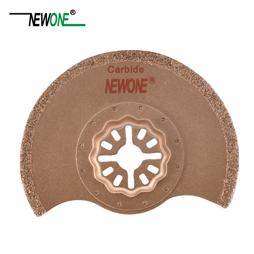 Image 4 - STARLOCK Type One piece NEWONE E cut Circular Carbide and Diamond Oscillating Multi Tool Saw Blades Triangle Rasp-in Saw Blades from Tools