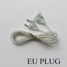 3M Extender EU plug 220V  for LED String  Christmas Lights Garden Home Wedding Party Decoration gianfranco ferre ferre lui him туалетная вода 30 мл