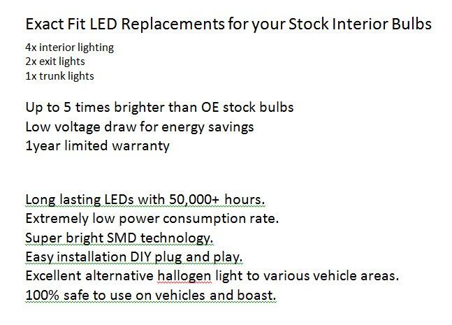 7 шт./лот авто-Стайлинг ксенон белый CAN-BUS менеджера светодиодный Подсветка салона для Audi R8 купе от Bj. 2007
