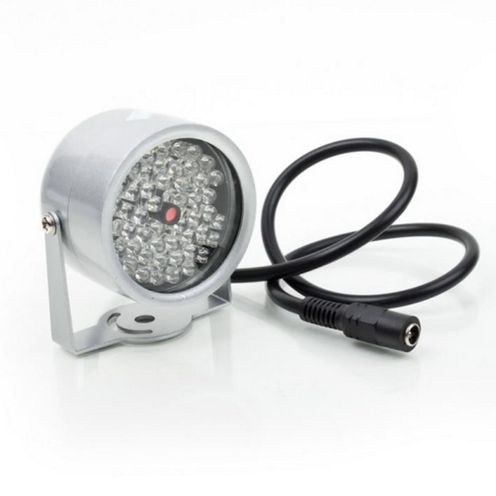 ICOCO עמיד 48 LED הפנס אור CCTV IR אינפרא אדום ראיית לילה עבור מעקב מצלמה