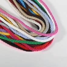 5yards 6MM eight-strand polyester cotton twisted rope handmade decorative rope for Cloth(China)