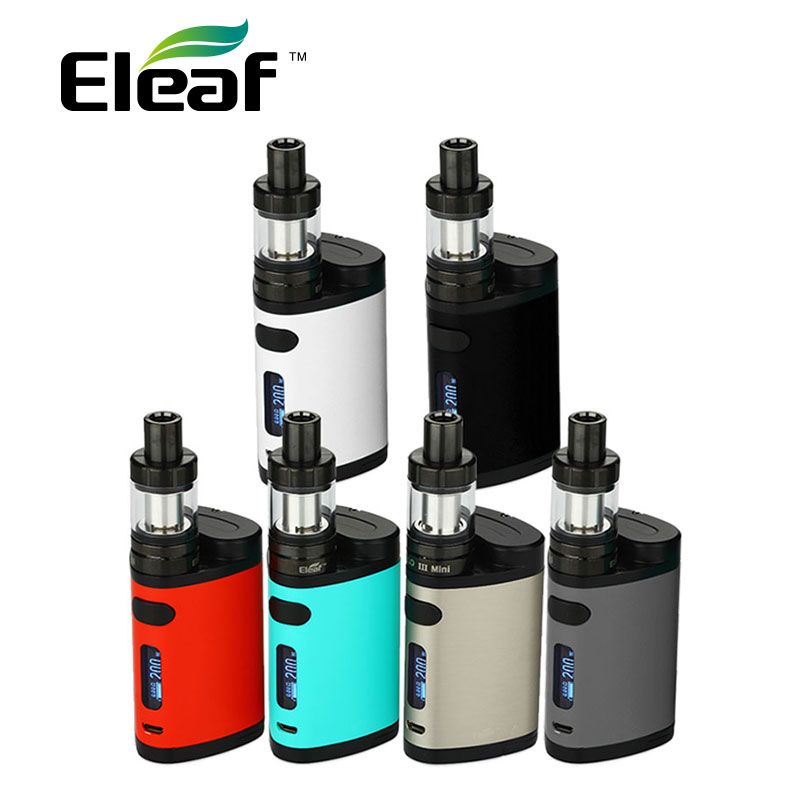 100% Original Eleaf Pico Dual TC Kit  200W Pico Dual Box Mod W/ 2ml  MELO 3 Mini  Atomizer Tank Vape E Cigarette Kit for Vapor original smy 75w mini tc box mod