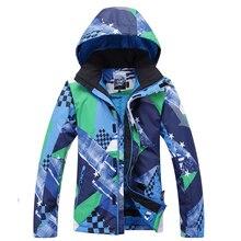 Free shipping Gsou Snowboard Suit men monoboard snow ski suit Men windproof breathable thermal outdoor Men Ski Jacket
