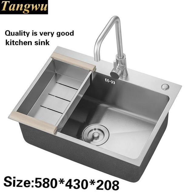 Tangwu High quality 304 stainless steel kitchen sink thickening ...