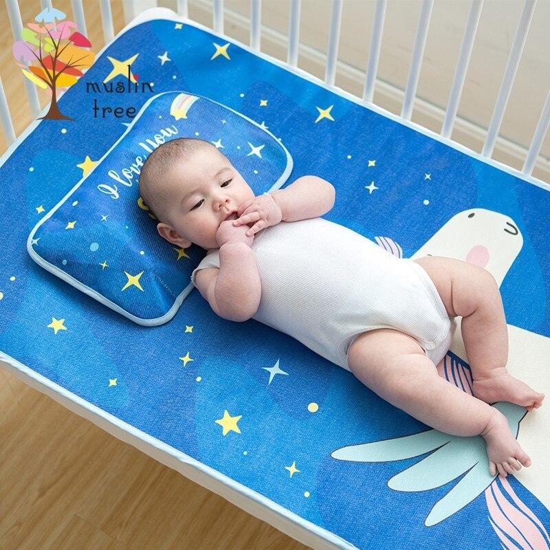 2018 newborns, ice mats, summer mats, childrens mats, wholesale two-piece baby bedding set
