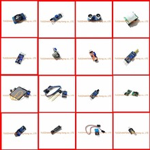 16pcs/lot Raspberry pi 2 3 the sensor module package 16 kinds of sensor for arduino kit Free shipping