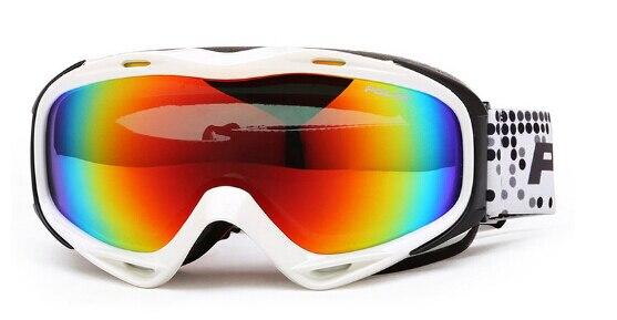 Hombres mujeres snowboard gafas de esquí polisi doble capa anti-vaho gafas polar