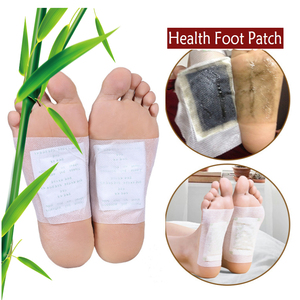 Image 4 - 800pcs=400pcs patches+400pcs Adhensives Kinoki Detox Foot Patches Slimming Feet Pads Improve Sleeping And Blood Circulation