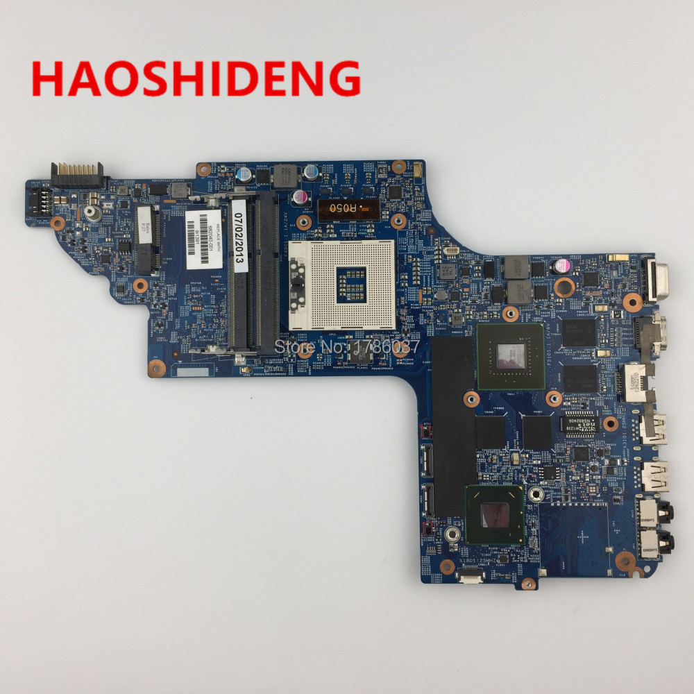 682040-501 for HP Pavilion DV7 DV7-7000 DV7T motherboard HM77 650M/2G.All functions fully Tested ! 580974 001 for hp pavilion dv7 dv7t dv7 3000 laptop motherboard tested working