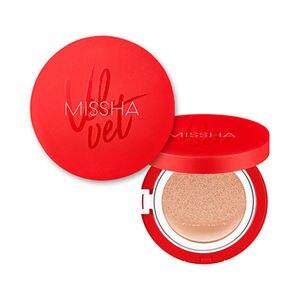 MISSHA Velvet Finish Cushion (SPF50+ / PA+++) BB Cream Sunscreen Air Cushion Concealer Moisturizing Foundation Whitening Makeup