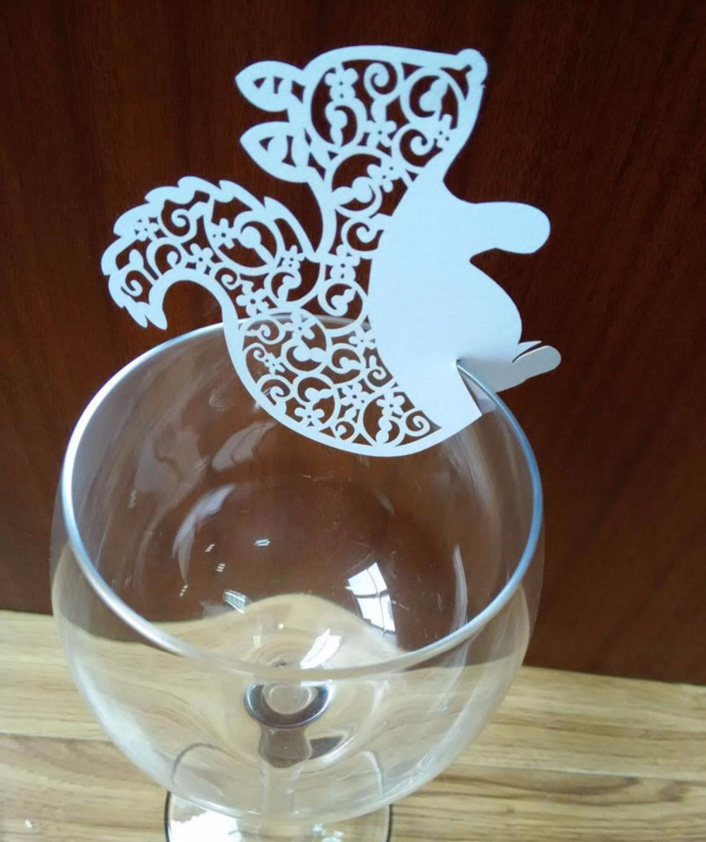 Home & Garden 100pcs Maple Leaf Paper Place Card Cup Card Wine Glass Card For Wedding Party Festival Table Decoration