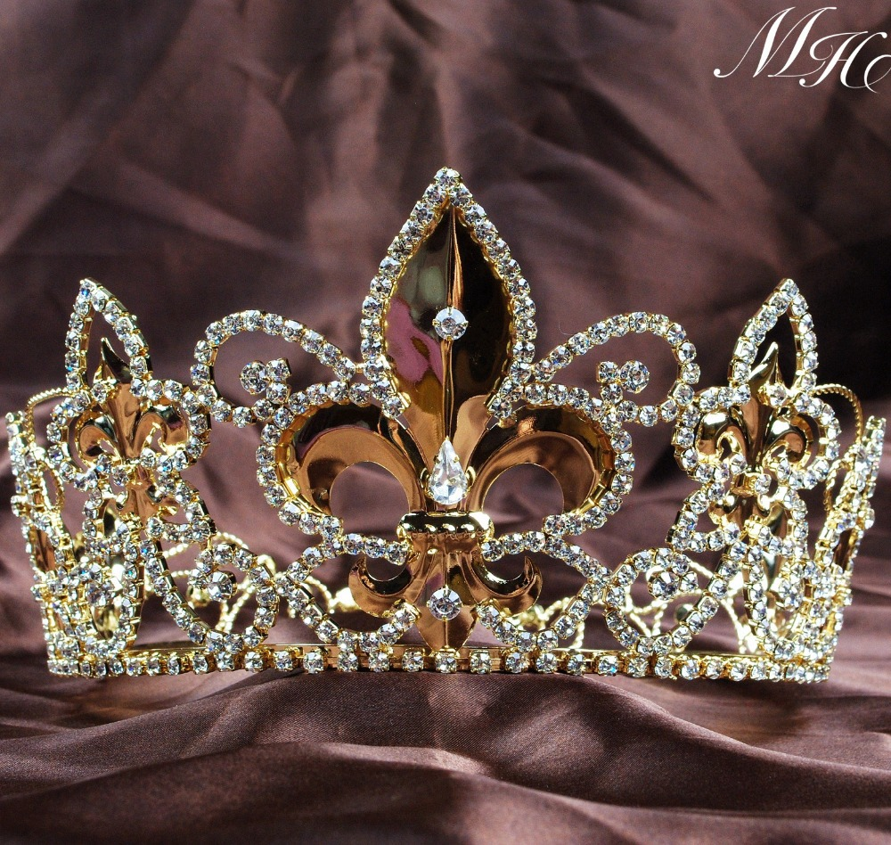 compare prices on gold queen crown- online shopping/buy low price