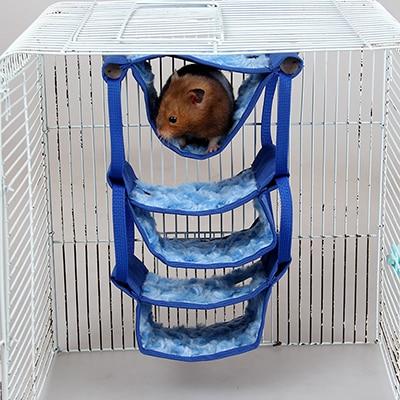 Small Animal House Creative Toy Squirrel Sugar Glider Hamster Hammock Cage