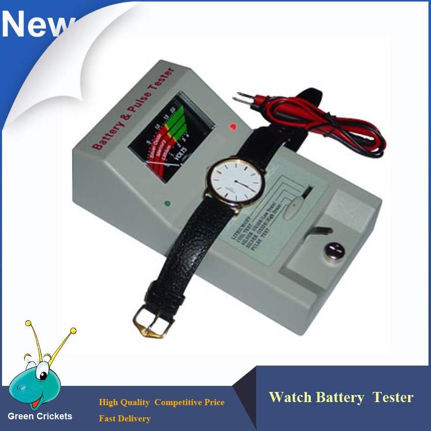 Free Shipping Watch Repairing Quartz Watch Tester Tools,Watch Batteries and Movements and Quartz Watch Tester Machine