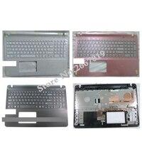 미국 새로운 Palmrest 커버 sony Vaio SVF15 SVF152 FIT15 SVF151 SVF153 SVF1541 SVF15E 노트북 키보드