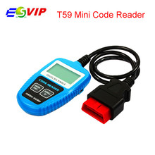 New Product CAN OBD2/EOBD mini code reader T59 Free Shipping