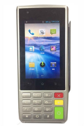 Handheld Android Magnetic Card POS Terminal, IC Card POS Terminal, Contactless POS Terminal