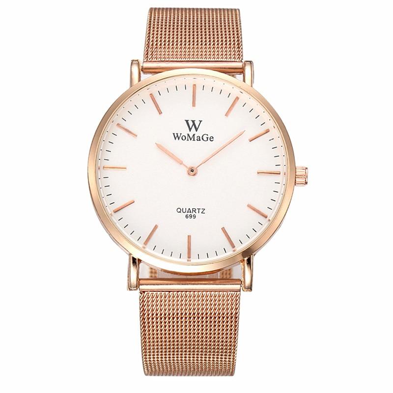 Luxury Watches Women Stainless Steel Quartz Wristwatch Lady Dress Watch Montre Femme Relogio Feminino Clock ceasuri hodinky Saat