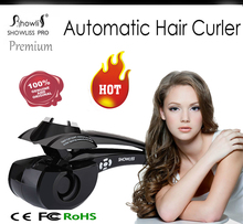 2016 New  LCD Pro Hair Curler Styler Heating Hair Styling Tools Automatic Hair Curling iron Roller Curling Wand
