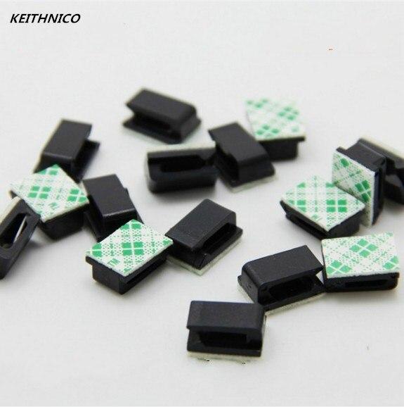 Keithnico 25 шт. клей кабельные зажимы органайзер для вождение автомобиля Регистраторы з ...