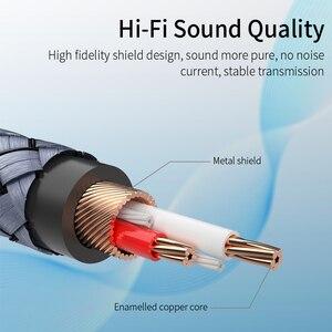 Essager RCA аудио кабель Jack 3,5 до 2 RCA кабель 3,5 мм разъем для 2RCA сплиттер папа-папа Aux кабель для ТВ ПК усилители DVD динамик провод