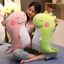 New Cartoon Dinosaur Plush Pillow Cute Meng Couple Animal Toy Doll Child Sleeping Appease Girl Birthday Gift