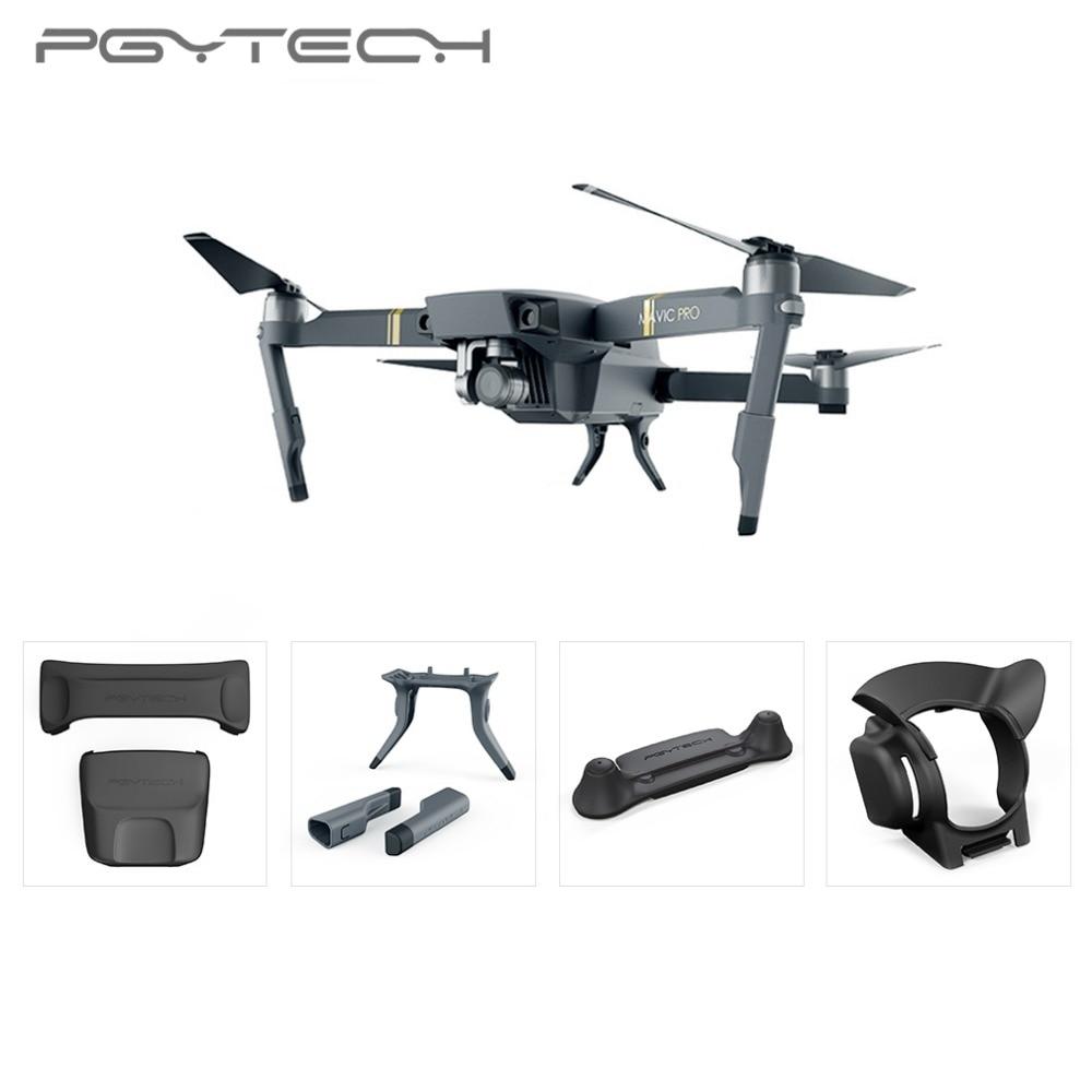 PGYTECH 1 Set Stick Rocker Protector Holder Extended Leg Protector Sun Shade Holder Protection Guard fixator for DJI MAVIC PRO