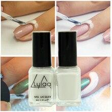 Retire o Líquido nail art Fita branca Fita de Látex & dedo Paliçada líquido Fácil limpeza da pele protegida Base Coat unha polonês cuidados(China (Mainland))