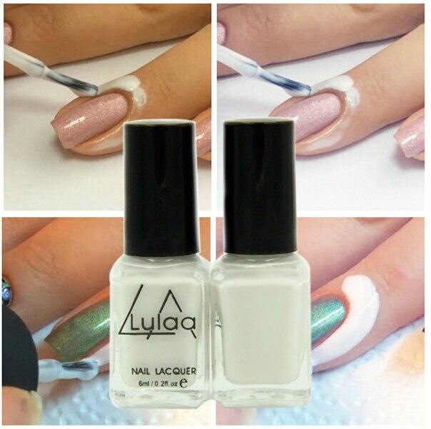 White Peel Off Liquid nail art Tape Latex Tape & finger skin protected liquid Palisade Easy clean Base Coat care nail polish