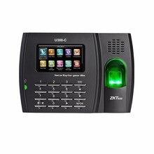 U300-C ZK U300 fingerprint time attendance device Arabic & E