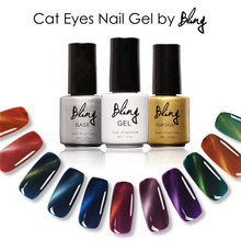 Bling Magnetic Cat Eyes Nail Gel Polish Led uv Gel Polish Soak Off Nail Varnish Use Magnet Stick Gel Nail