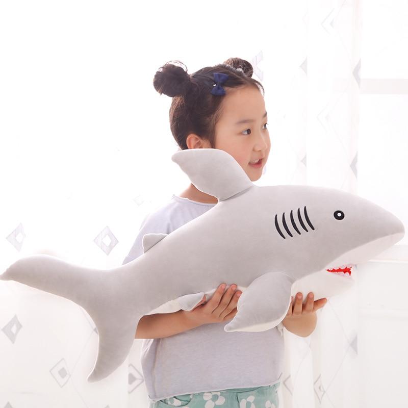 giant large hot sale creative shark stuffed plush