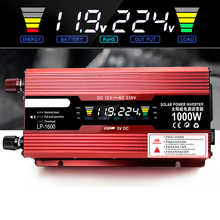 Car Inverter DC12V 220V 2000W 1000W Power USB Inverter LED Display Charger Converter Adapter For Home Automobiles Car Electronic