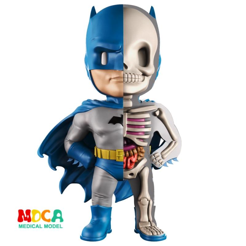 Blue Batman 4D XXRAY master Mighty Jaxx Jason Freeny anatomy Cartoon ornamentBlue Batman 4D XXRAY master Mighty Jaxx Jason Freeny anatomy Cartoon ornament