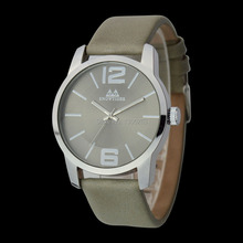Hot New Fashion 5 Color Available Men Business Watch High Quality 3ATM Men Leather Band Business Watch