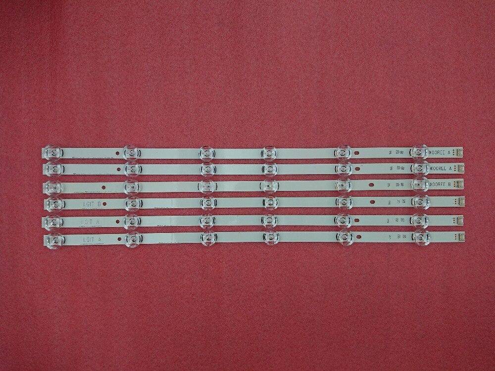 original New 15 PCS 6LED for LED backlight strip LG 32LB5700 INNOTEK DRT 3 0 32